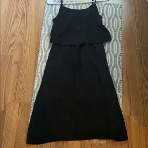 Madewell silk strap dress